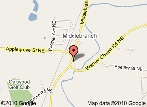 directions to middlebranch collision center canton oh